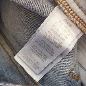 Frame Denim Jeans - Frame light wash denim jeans.